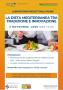 LA DIETA MEDITERRANEA TRA TRADIZIONE E INNOVAZIONE Laboratorio progettuale on-line 3 novembre 2020 ORE 15.00